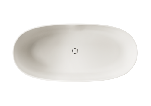 PAA freestanding bath BELLA 1705 x 800 mm (top view)