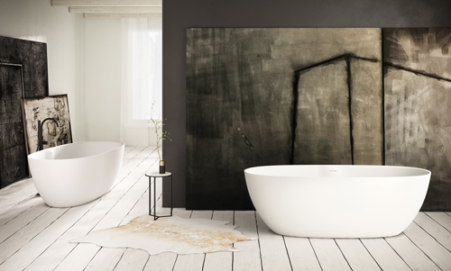 PAA freestanding bath BELLA 1705 x 800 mm romance and elegance in every way